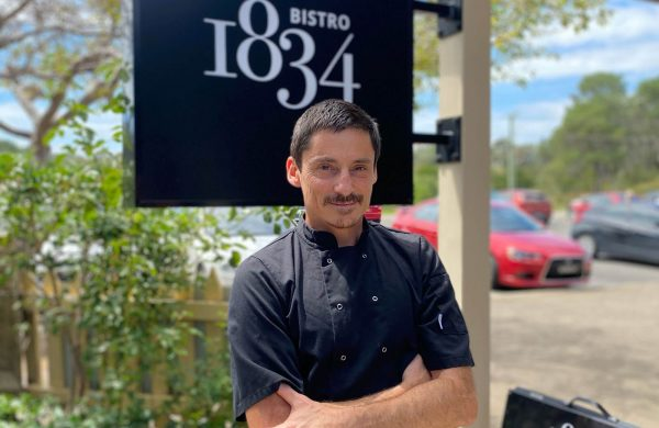 Bistro 1834 Chef Rob Brown