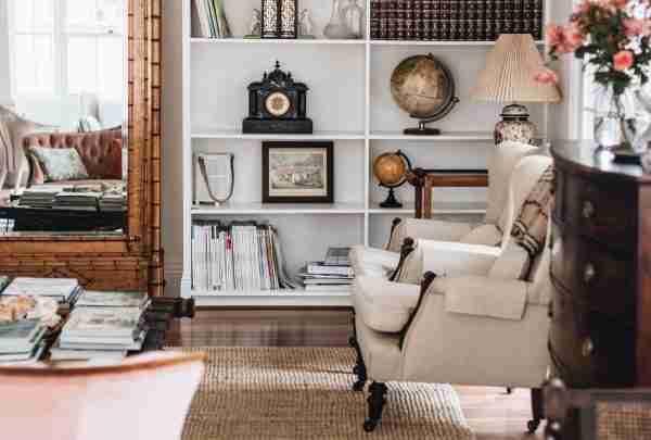 Highlands cottage berrima sitting room