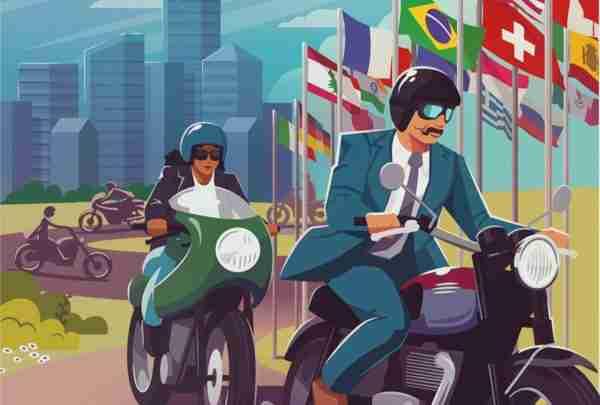 Gentlemans ridebanner